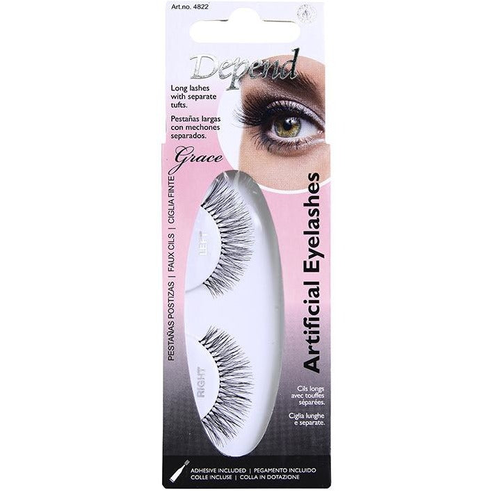 Artificial Eyelashes Grace - Crystal Cosmetics e-Store