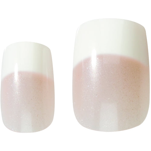 Nail Kit French Look, Square Soft Pink