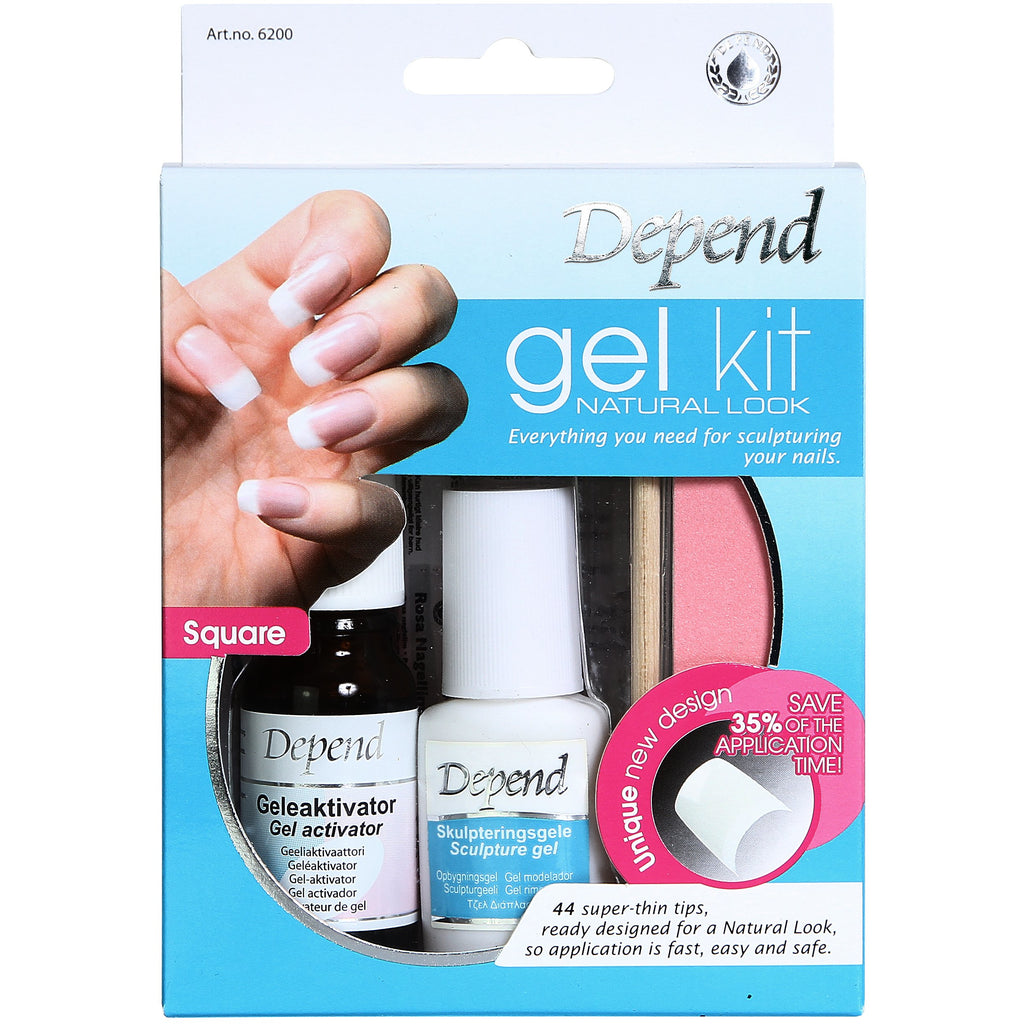 Gel Kit Natural Look - Crystal Cosmetics e-Store