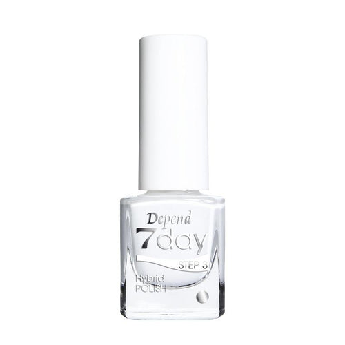 7Day Hybridpolish Nr.7005 Pure White - Crystal Cosmetics e-Store