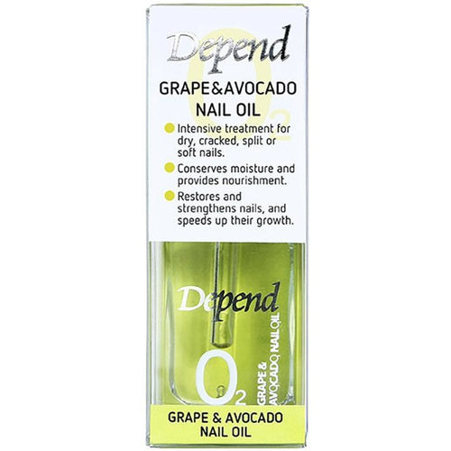 O2 GRAPE & AVOCADO NAIL OIL (STEP 2)