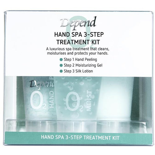 O2 Hand Spa 3-Step Treatment Kit