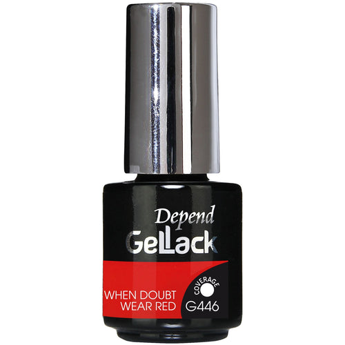 Gellack Nr.446 When Doubt Wear Red - Crystal Cosmetics e-Store
