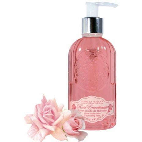 Liquid Soap Of Marseille Captivating Rose