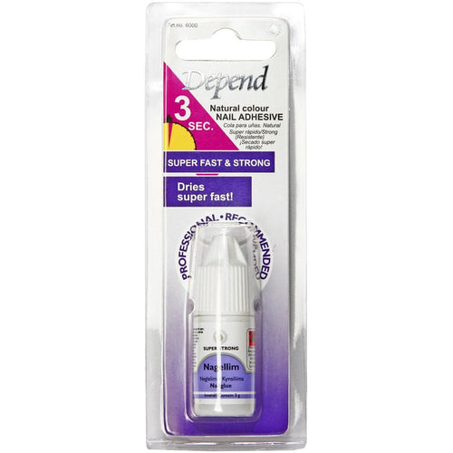 Adhesive For Artificial Nails Natural Colour - Crystal Cosmetics e-Store