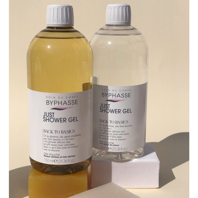 Back to Basics Shower Gel, For Dry and Very Dry Skin - Crystal Cosmetics e-Store