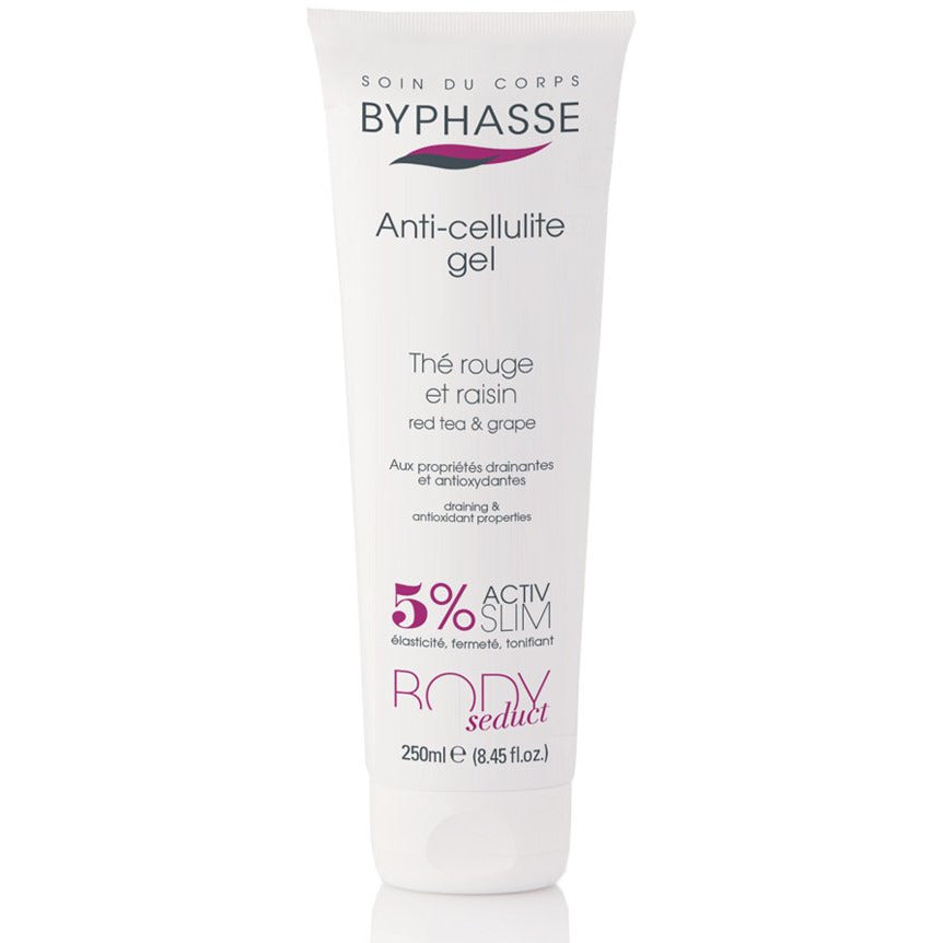 Body Seduct Anti-Cellulite Gel Red Tea and Grape - Crystal Cosmetics e-Store