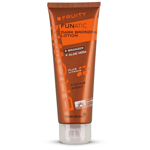 Brown Fruity Funatic Dark Bronzing Lotion 125 ML - Crystal Cosmetics e-Store