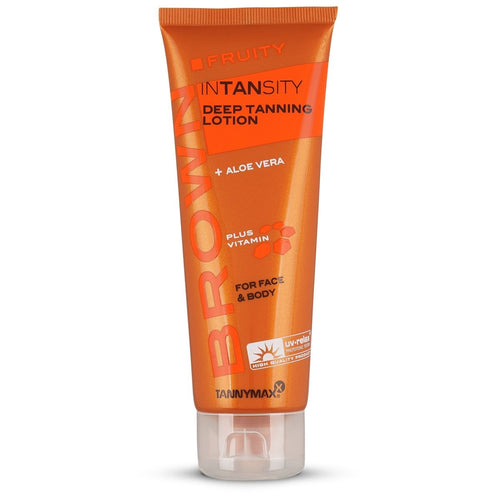 Brown Fruity Intansity Tanning Lotion 125 ML - Crystal Cosmetics e-Store