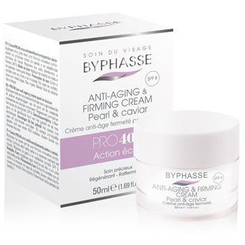 Anti-aging Cream PRO40 with Pearl and Caviar, Mature Skin