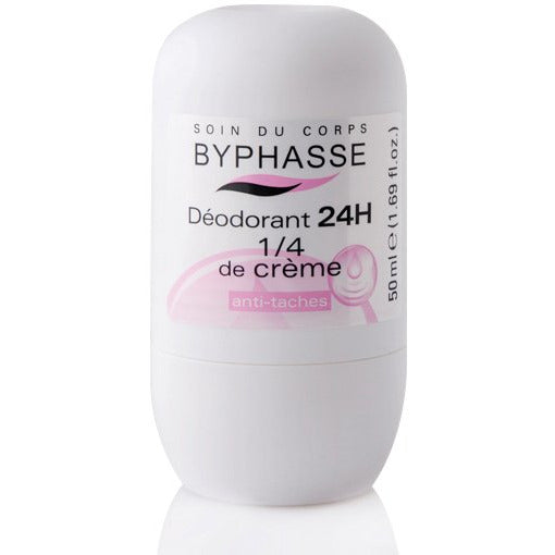 24h Deodorant 1/4 Cream (Roll-On) - Crystal Cosmetics e-Store