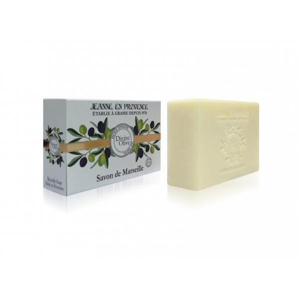 Divine Olive Solid Marseille Soap With Organic Olive Oil - Crystal Cosmetics e-Store