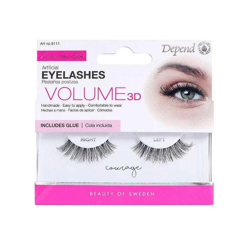 EE Eyelashes Courage Volume 3D - Crystal Cosmetics e-Store