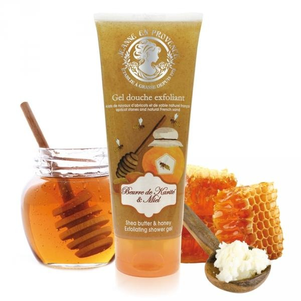 Exfoliating Shower Gel Of Shea Butter & Honey