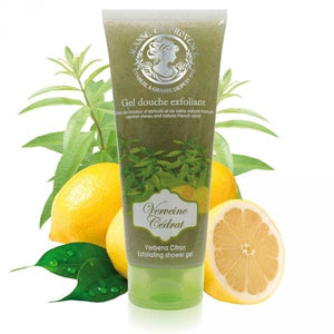 Exfoliating Shower Gel Of Verbena Citron - Crystal Cosmetics e-Store