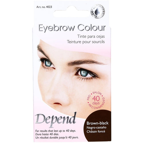 Eyebrow Colour Brown Black - Crystal Cosmetics e-Store
