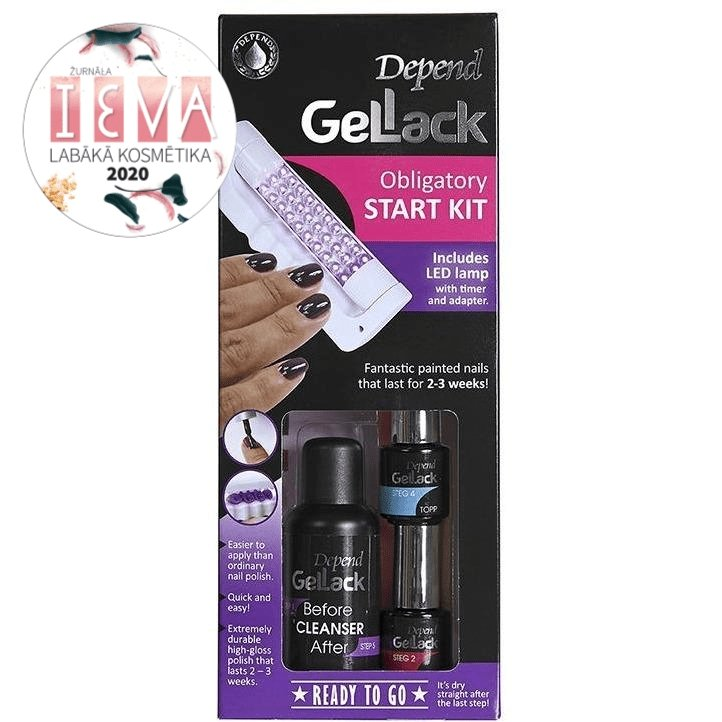 GelLack Obligatory Start Kit - Crystal Cosmetics e-Store