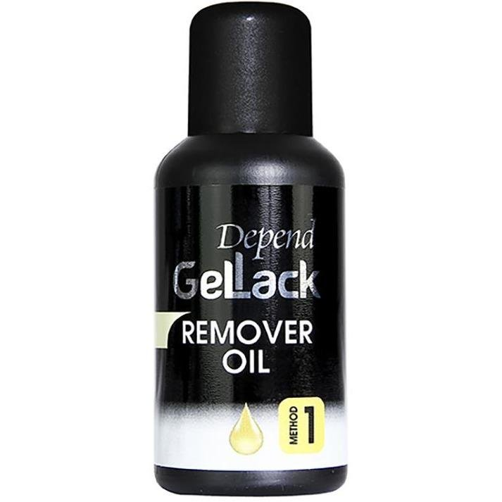 Gellack Remover Oil, Method 1 35 ML - Crystal Cosmetics e-Store