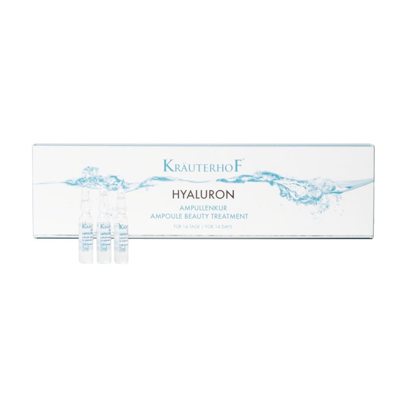 Hyaluron+ Ampoule Beauty Treatment 14 x 2 ml - Crystal Cosmetics e-Store