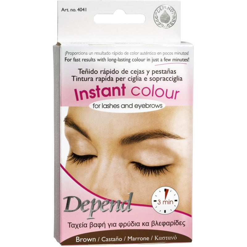 Instant Color For Lashes And Eyebrows Brown - Crystal Cosmetics e-Store