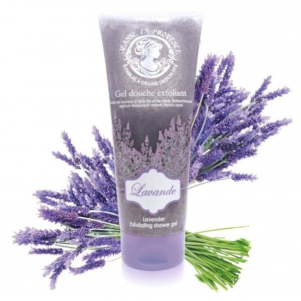 Exfoliating Shower Gel Of Lavender