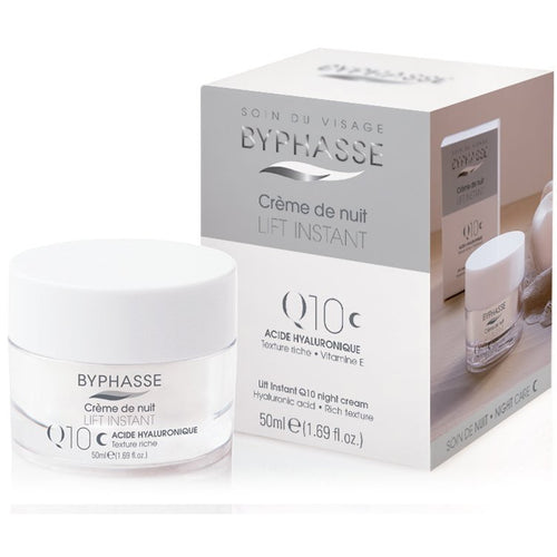 Lift Instant Cream Q10 Night Care, All Skin types - Crystal Cosmetics e-Store