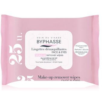 Make-Up Remover Wipes Milk Proteins, For All Skin Types