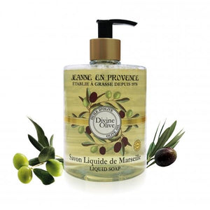 Divine Olive Liquid Soap With Organic Olive Oil