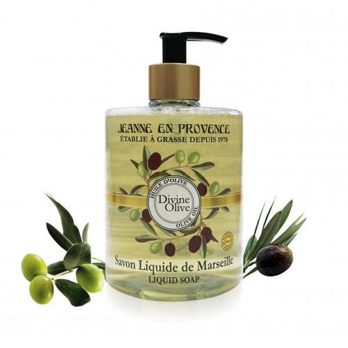 Liquid Soap of Marseille Divine Olive with Organic Olive Oil
