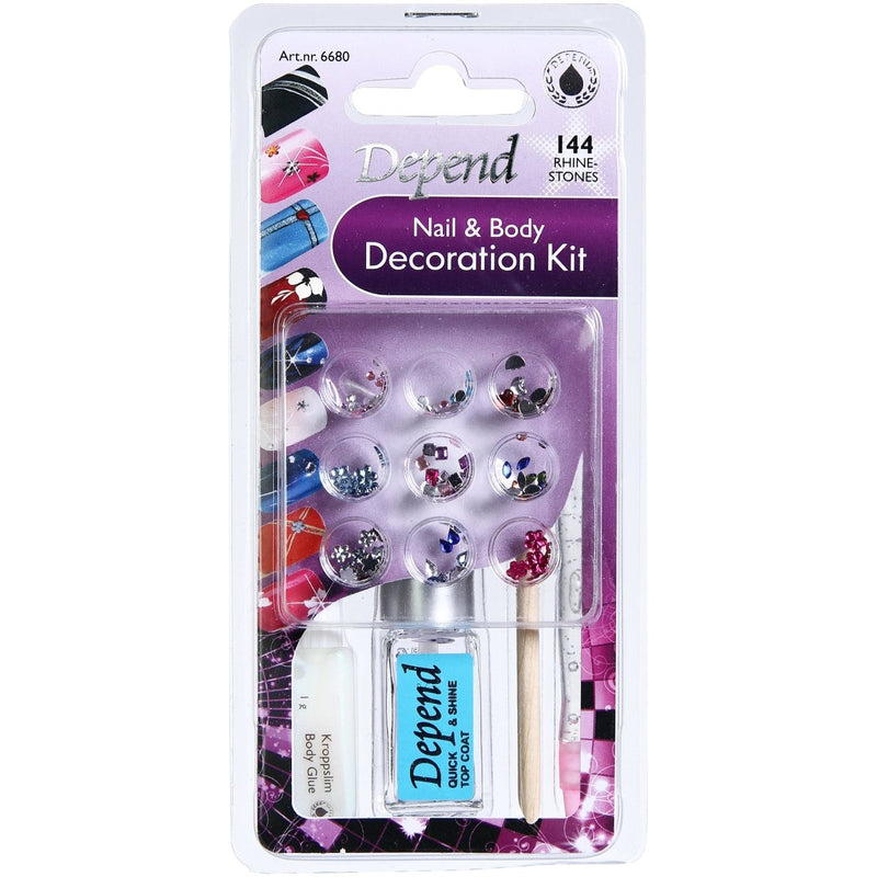 Nail And Body Decoration Kit #6680 - Crystal Cosmetics e-Store