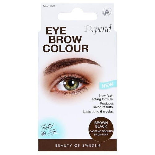 PE Eyebrow Colour Brown Black - Crystal Cosmetics e-Store