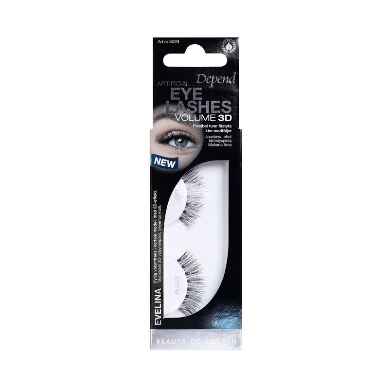 PE Eyelashes Evelina Volume 3D - Crystal Cosmetics e-Store