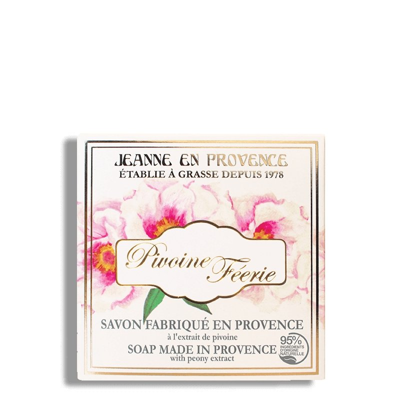 Pivoine Féérie Solid Soap - Crystal Cosmetics e-Store