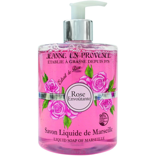 Rose Envoutante Liquid Soap - Crystal Cosmetics e-Store