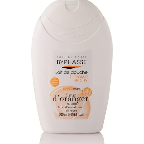Shower Cream Orange Blossom and Sweet Almond Milk - Crystal Cosmetics e-Store
