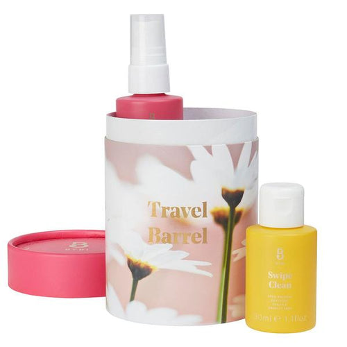 TRAVEL BARREL - Mega Mist + Swipe Clean - Crystal Cosmetics e-Store