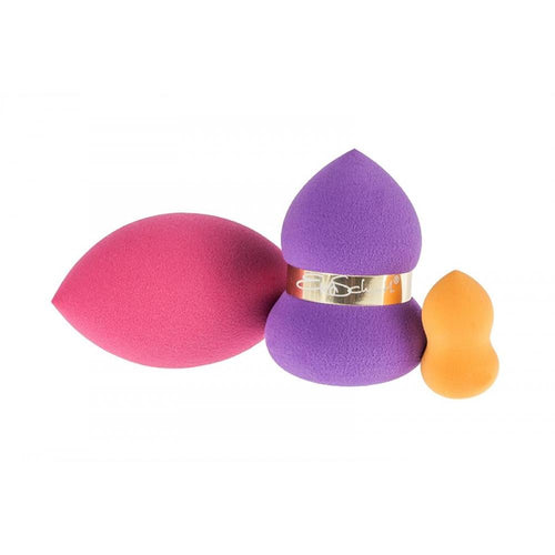Zenner 3D BLENDER make up sponge 3 pcs - Crystal Cosmetics e-Store