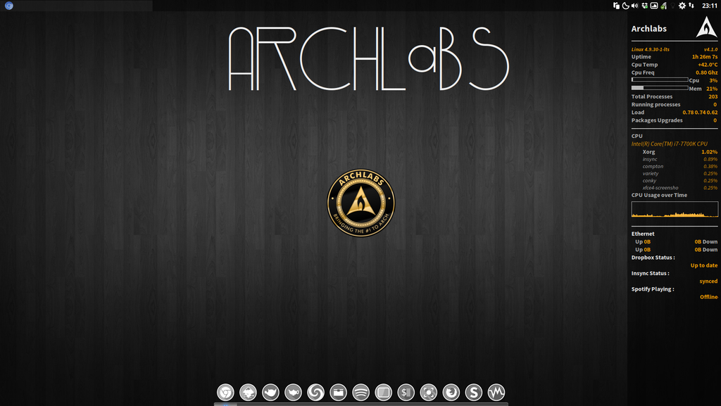 ArchLabs 5 0: One of the Best, Gets Even Better – Station X Systems