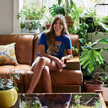 Jenna Holmes, aka Plant Mama, the queen of the green