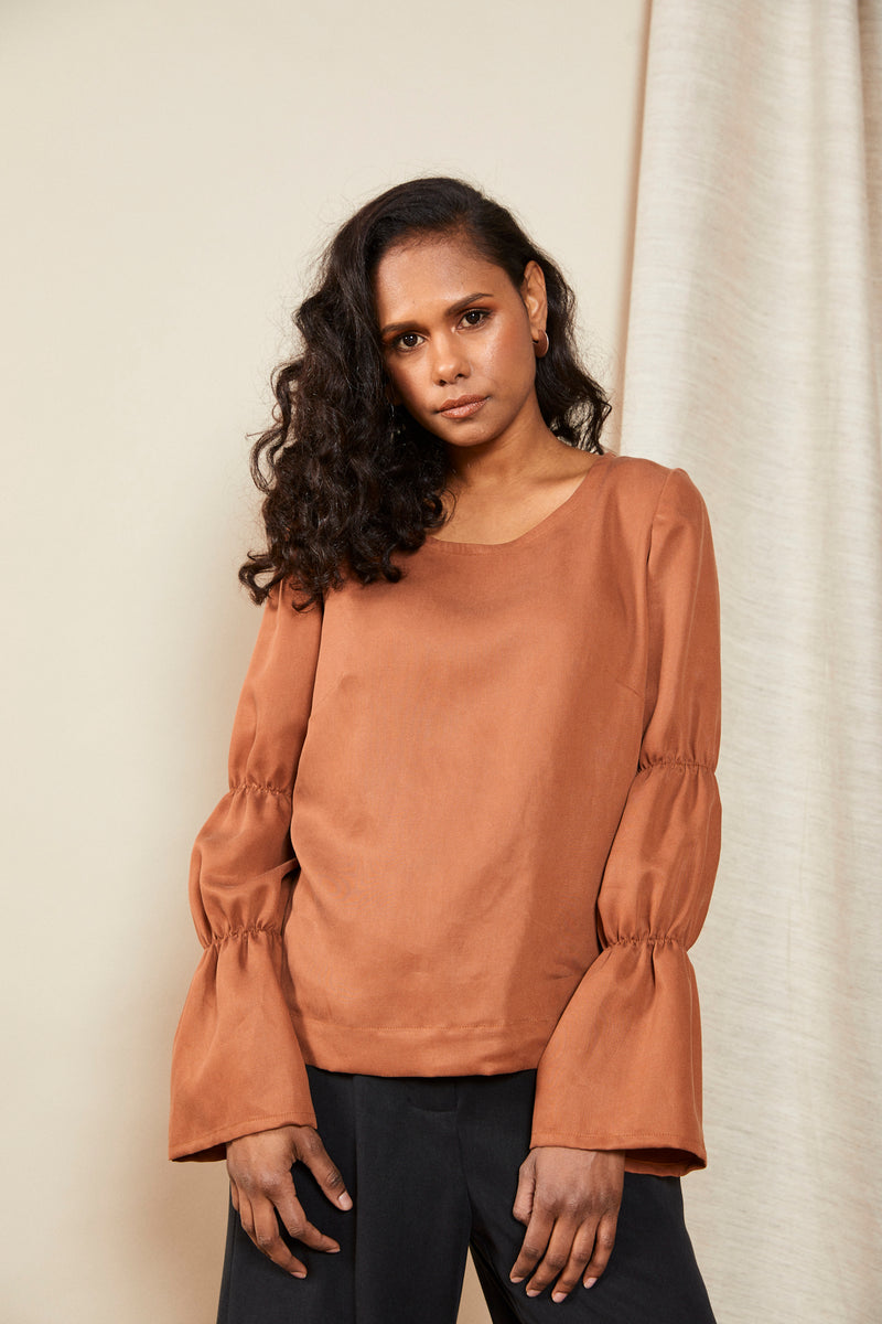 Contain Top | Terracotta