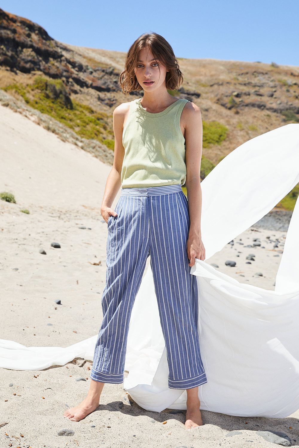 Direction Pants | Blue
