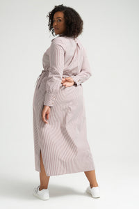 Carmela Shirt Dress | Stripe