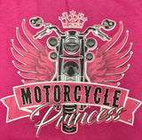 Motorcycle Princess Pink Tank Top
