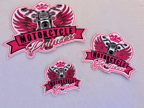 Motorcycle Princess Patch