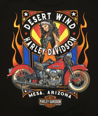 DWH-D Native Girl Pinup Dealer Tee