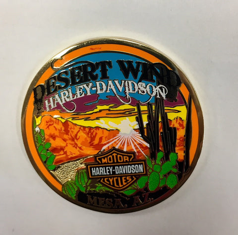 Desert Wind HD Challenge Coin