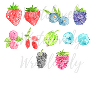 Berries clipart