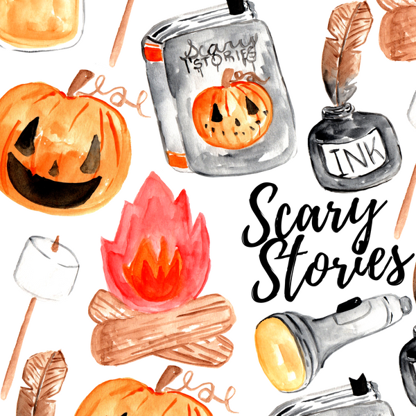 FREEBIE Halloween Scary Story Clipart
