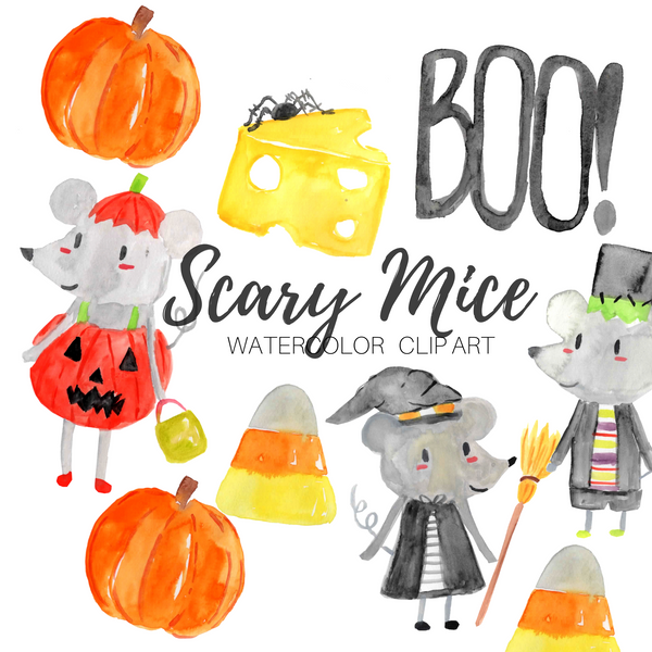 FREE Scary Mouse Clipart