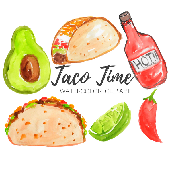 FREE Taco Time clip art